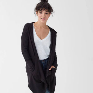 Splendid Flight Cardigan, Black, size S, NWT